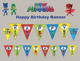9 pj masks birthday party images birthday