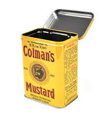 colemans mustard colman s mustard keepsake tin pink cat shop