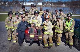 horn hometown tours saginaw fire department senator ken horn