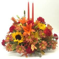 classic thanksgiving centerpiece lipinoga florist