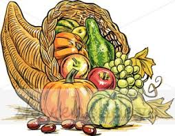 horn of plenty clipart thanksgiving clipart backgrounds
