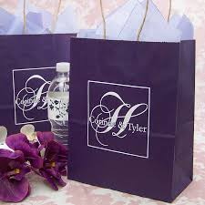personalized wedding gift bags 8 x 10 submit your own artwork kraft gift bags set of 25