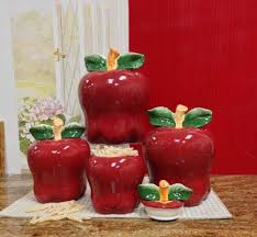 apple kitchen canisters 143 best apple kitchen stuff images on plastic