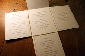 folding wedding invitations my letterpress wedding invite spiffy press santa barbara