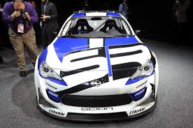 frs car scion fr s race car debuts at detroit auto show 2012 with video