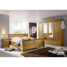 Komplett Schlafzimmer Angebote Schlafzimmer Roland Ii Kiefer Massiv Honigfarben Lackiert