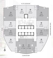 Floor Plan Of A Business Office Space For Rent Kuala Lumpur Kl Klcc Malaysia Floor