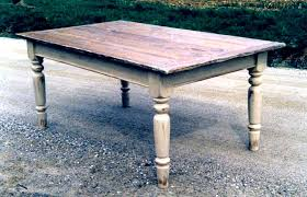stained table top painted legs refinishing a veneer table a tutorial fabulously flawed