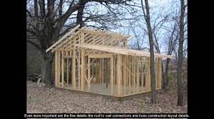 5 sided shed plans youtube