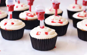 edible blood spooky vire bite cupcakes with edible blood the butter half