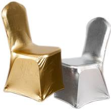 Gold Spandex Chair Covers Online Get Cheap Silver Chair Cover Aliexpress Com Alibaba Group