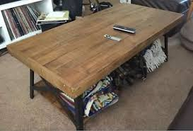 Coffee Tables Rustic Wood Rustic Coffee Table Ebay