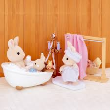 sylvanian families bath and shower set toys r us australia