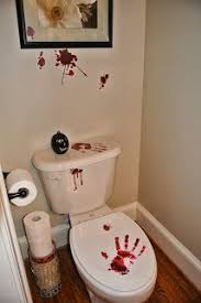 Halloween Bathroom Decor Pin By Donna Erickson On Halloween Decor Pinterest Haunted