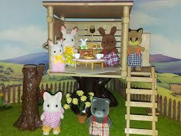 rabbit treehouse the treehouse sylvanian families