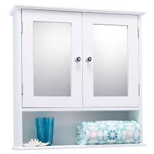 3 Door Bathroom Cabinet Brilliant 3 Door Mirrored Bathroom Cabinet White Dkbzaweb