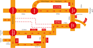 Rohini Metro Map by Sawda