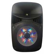 blackweb lighted bluetooth speaker review irocker 15 in pa speaker with led party lighting xs 3500 the home