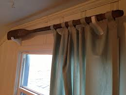 Decorative Wood Curtain Rods Wooden Curtain Rod With Unique Paddle Wooden Curtain Rods And