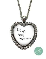 custom handwriting necklace 16 best memorial handwriting jewelry images on