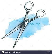 barber scissors logo symbol optional hairstyle hair cut logo logos