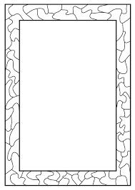 Halloween Page Borders by Black And White Paw Print Border Davia Pinterest Printing