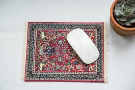 Persian Rug Mouse Mat by Tree Of Life Mouse Pad