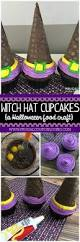 halloween witch hat cupcakes recipe halloween food crafts