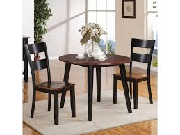 holland house 8202 3 piece dining set with drop leaf table royal