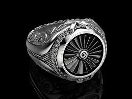 men rings designer men turbine ring gw7777577