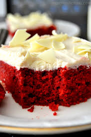 the best red velvet cake with boiled frosting the domestic rebel