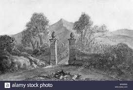 johann wolfgang von goethe u0027s sketch of garden gates in the high