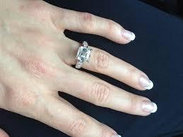asscher cut diamond engagement rings five awe inspiring asscher cut engagement rings ritani