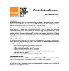application development job description software developer job