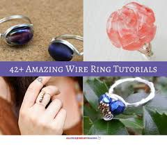 make wire rings images Wire rings 42 amazing wire ring tutorials jpg