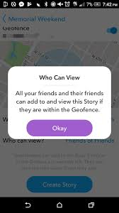 how to make a custom snapchat story 5 simple steps