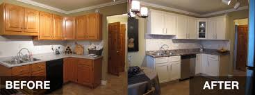 How To Refinish Kitchen Cabinets With Limited Budget Ward Log Homes - Kitchen cabinets refinished