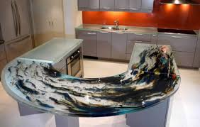 get transparent with think glass kitchen countertops 3rings