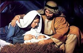 was when she gave birth to jesus