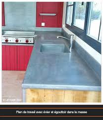 plan de travail cuisine en zinc plan de travail cuisine en zinc cuisine actac refaire plan de