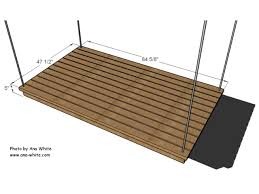 day bed plans easy diy hanging daybed hgtv