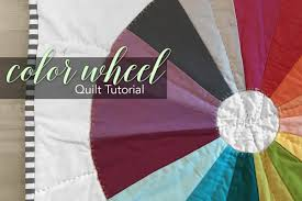 color wheel quilt tutorial create a color wheel mini quilt with