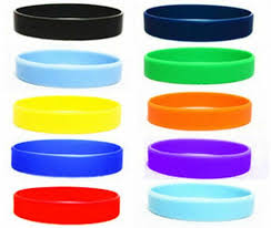 rubber wrist bracelet images New 2pcs assorted solid colors silicone wristbands wrist bands jpg