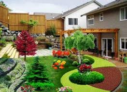 fascinating simple small backyard landscaping ideas vegetable
