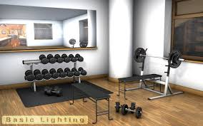 gym weights 3d model