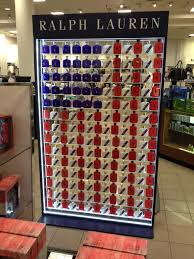 total frat move polo ralph cologne display at macy s tfm