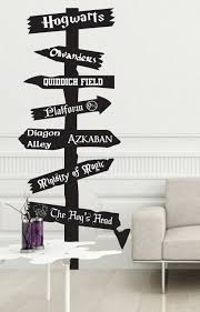harry potter the boy who lived pinterest harry potter and customizable harry potter inspired road sign vinyl wall by jobstco