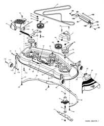 solved need to find illustration of mower deck drive belt fixya
