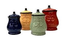 fleur de lis kitchen canisters fleur de lis canister set stylish decorative and functional
