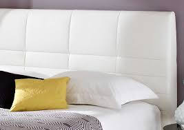 white leather headboard king fresh king sleigh bed leather